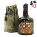 Royal heritage 2009, leather DrawString bag 750 ml 43% ROYAL HERITAGE 21 years old whiskey aged zp872