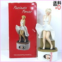 """Marilyn Monroe """"seven year itch"""" pottery bottle 750 ml 43% box with Bourbon whiskey aged ZQ678"""
