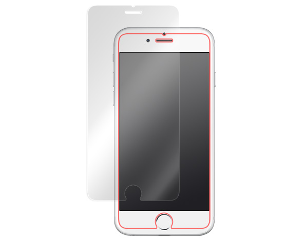 GLASS PRO+ Premium Tempered Glass Screen Protection(�Хå��ܥ���ǽ�դ�) for iPhone 6