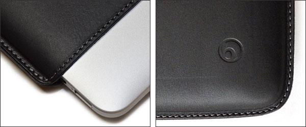 """ハンドメイドレザーケース for MacBook Pro 13""""(Retina Display)"""