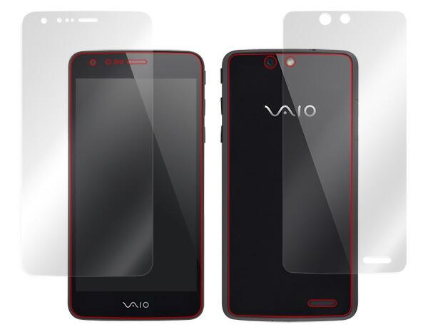 VAIO Phone専用保護シート OverLay Plus『表・裏両面セット』低反射タイプ