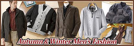 秋冬の紳士ファッションはこちらで!