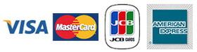 楽天カード、VISA、MASTER、JCB、AMEX