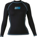 AQA UV dry rash guard long 2 ladies KW-4214