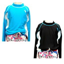 Rash Guard kids long sleeve UV cut UV protection immediately dry and quick-drying swimwear solid