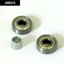 베어링 ABEC7 단품 1 세트 스케이트 보드 スケボー 고품질 높은 회전