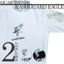RASHGUARD EAGLE LONG quakysense (クエーキー sense )