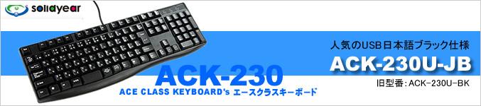 USB���ܸ졡SolidYear ACK-230U-JB���֥�å�����