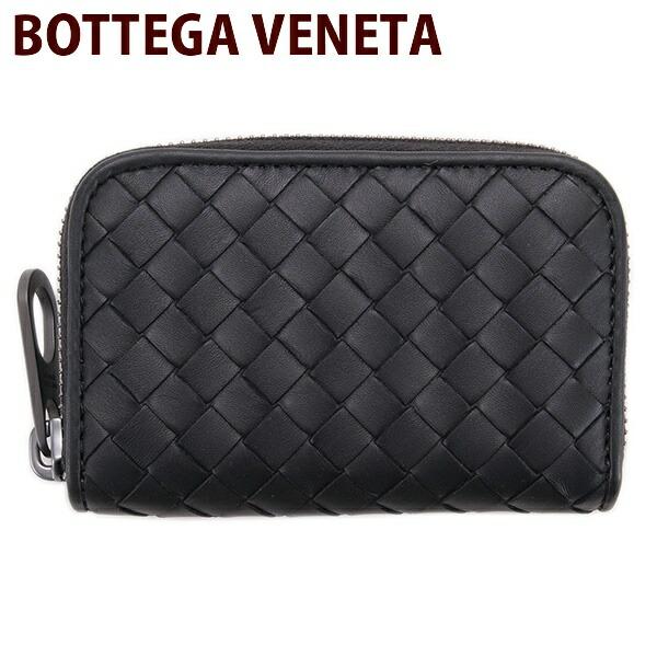 ボッテガヴェネタ コインケース BOTTEGA VENETA 小銭入れ 財布 カーフレザー ブラック 114075 V4651 1000