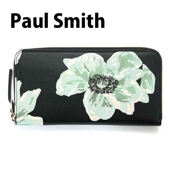�ݡ��륹�ߥ� Paul Smith ���� Ĺ���� ��� �饦��ɥե����ʡ� �֥�å��ߥե��ץ��� WNXA 4609 W738 B