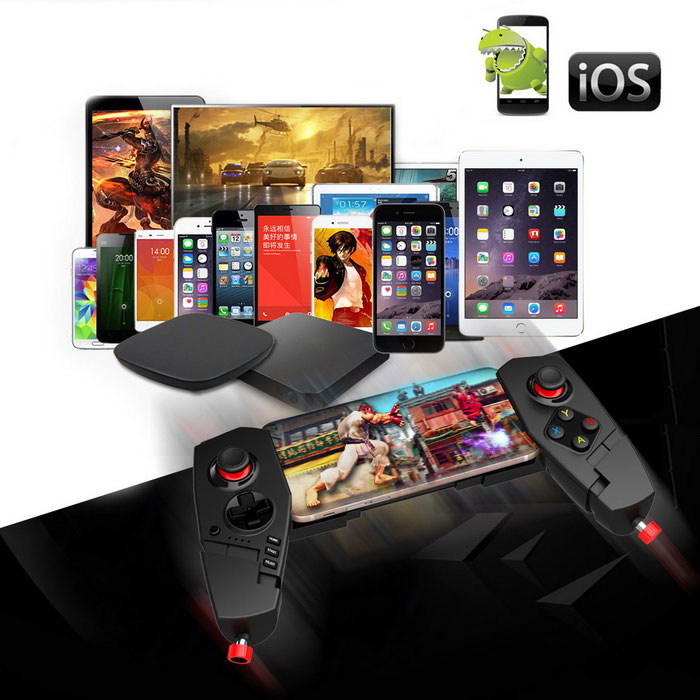 ipega iPhone6s対応 ゲームコントローラー iOS Android端末対応 スマホ タブレット Bluetooth ◇PG-9055
