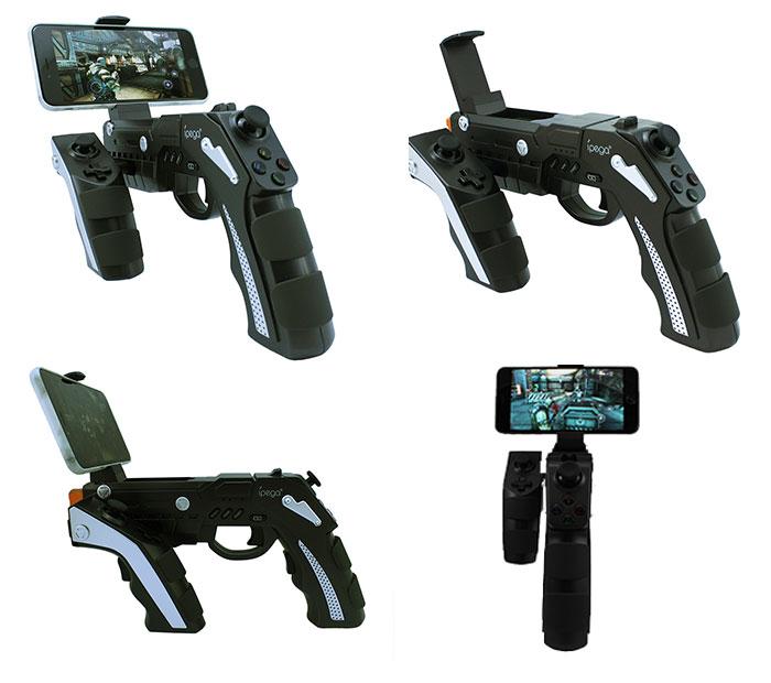 ipega ピストルタイプ ゲームコントローラー ガンスタイル Bluetooth スマホ タブレット ◇PG-9057