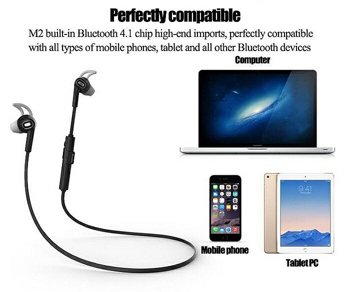 2015ǯ��ǥ� Bluedio M2 ���䡼 �磻��쥹 Bluetooth 4.1 HiFi���� �ⲻ�� ���ƥ쥪 �إåɥ��å� ���ƥ쥪 ����ۥ� ���ݡ��� �إåɥե��� �ϥե ���� ��M2