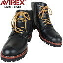 ≪WIP ≫ AVIREX red-throated loon Rex AV2931 TIGER buckle boots black