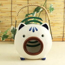 Yakushi kiln incense holder pig 蚊遣 instrument (vertical) (452)