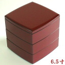6.5 black 寸 (MA-604) in three steps of wrapping a cylinder nests of boxes ancient vermilion