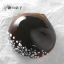 Hirota glass glass confection chopstick rest Tanba chestnut yokan