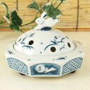 :fs3gm Yakushi-kiln incense censer noodles rabbit 蚊遣 instrument (4408)
