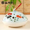 Yakushi kiln incense holder incense burner wind goldfish 蚊遣 instrument (4410)