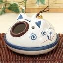 Yakushi kiln incense holder pig 蚊遣 instrument (flat type) (450)