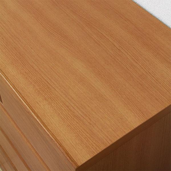 タンス チェスト 完成品 ローチェスト 幅120cm 4段 衣類収納 桐 木製