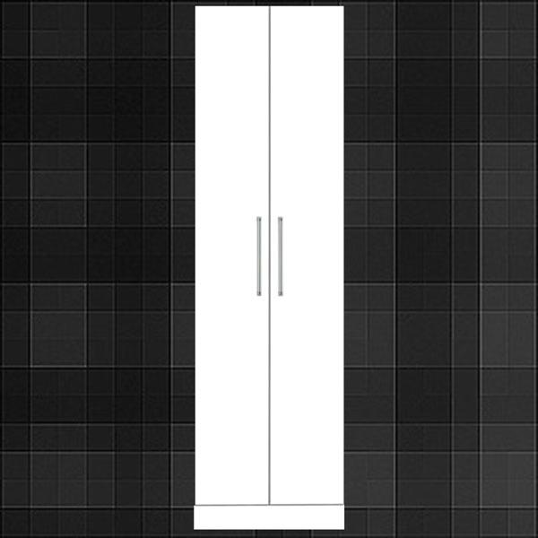 ワードローブ ホワイト 幅50cm