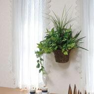 光触媒 人工観葉植物 光の楽園 壁掛けタイプ