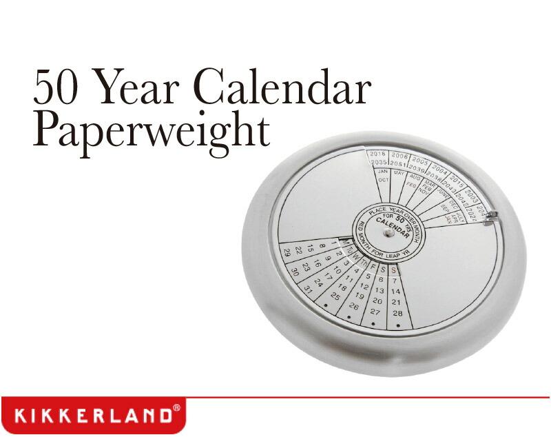 Year Calendar Kikkerland : 【楽天市場】( あす楽 ) 文鎮 ペーパーウェイト イヤーカレンダーペーパーウェイト 【 kikkerland