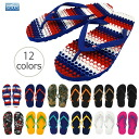 Aussie stripes unisex flip flops foot sole massage effect immensely Australia massage Sandals Souls ( souls )