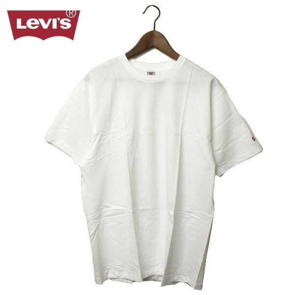 Walk rakuten global market white men with levi 39 s levis for Levis plain t shirts