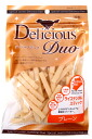 Synthetic coloring agent, wheat flour nonuse ☆ relief & health snack debuts Delicious Duo rice den Tal stick [plane] antioxidant!