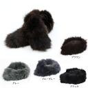 Real Fox richfoomuffler women's Fox Fur collar roll Tippett