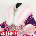 ] party and the coming-of-age ceremony that feather fur shawl [][ consumption tax includes light with the race frill cannot miss it
