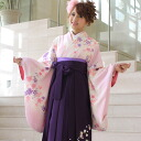 Pink Hakama petticoat rental which 2 BrilliantPeace hakama rental graduation ceremony hakama set graduation ceremony hakama set shaku sleeves kimono & hakama full set rental is low in