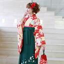 2 BP hakama rental graduation ceremony hakama set graduation ceremony hakama set shaku sleeves kimono & hakama full set rental Hakama petticoat rental