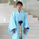 Hakama (bite's hakama) men's haori coat hakama rental ( れんたる ) 13 point set Quinceanera graduation wedding costumer cheap montsuki haori coat hakama