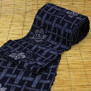 "有松鳴海絞 squeeze yukata cloth ""is domestic hand-sewn sewing & Zone present ≫ yukata yukata tradition industrial art object sputum thing of lattice and the camellia ""≪ first class kimono dressmaking certified technician to a bluish ground"""