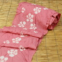 """It is domestic handstitch sewing & Zone present ≫ yukata yukata tradition industrial art object sputum thing of the camellia ""≪ first class kimono dressmaking certified technician 有松鳴海絞 squeeze yukata cloth in the pink place"""