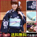 "It is] including ""double cross yukata Zone clogs woman nostalgic woman kimono woman yukata set floral design purple adult [consumption tax with a morning glory purple to a bluish ground"" a yukata set Lady's fancy weaving yukata set"