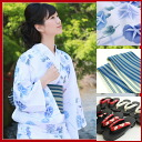 Yukata set women's high quality still weave yukata 3 pieces blue morning glories on white cool material Calcul yukata belt clogs women flower woman kimono women yukata set chic purple adult