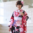Kimono rental adult set 20 points set black red adult ceremony from weddings and formal kimono kimono galumnidae trusting rental renntaru comingof inbetween seizing ski bag bag