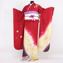 Kimono rental ceremony set silk Kyo Yuzen 20 points set ceremony from the wedding and formal kimono kimono galumnidae trusting rental renntaru adults inbetween seizing ski bag bag