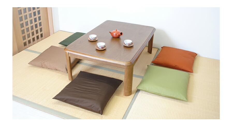座布団 カバー 座布団カバー 無地 カラー 14カラー 和室 洋室 ナチュラル カラフル 日本製 国内生産 国産 こだわり