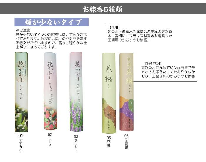 絵ろうそく四季の花(手描き)12本入