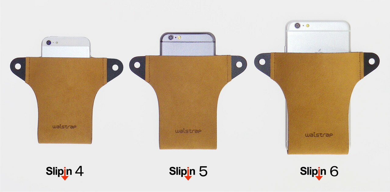 iPhone5 iPhone6 plus ケース ホルダー ベルト ポーチ ポシェット Slipin