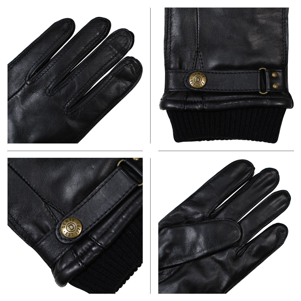 Mens leather gloves dents - Product Name