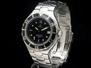 200 omega-OMEGA-Cima star black bezel lindera board SS/SS quartz men