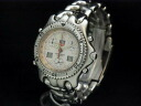 Tag Heuer - TAG HEUER - Senna model white face scarcity!  Men's quartz SS/SS