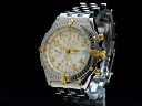 Men's Brightman ring-BREITLING-Kurono mat bigrounder 18KYG/SS; is automatic