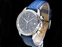 Omega - OMEGA - speed master date navy face automatic SS case / leather men Sakurashimmachi